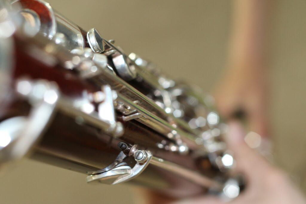 Minimalist image of a Bassoon instrument.
